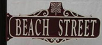 Modified Victorian Street Sign
