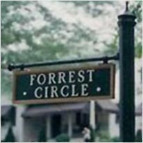 Forrest Circle Street Sign